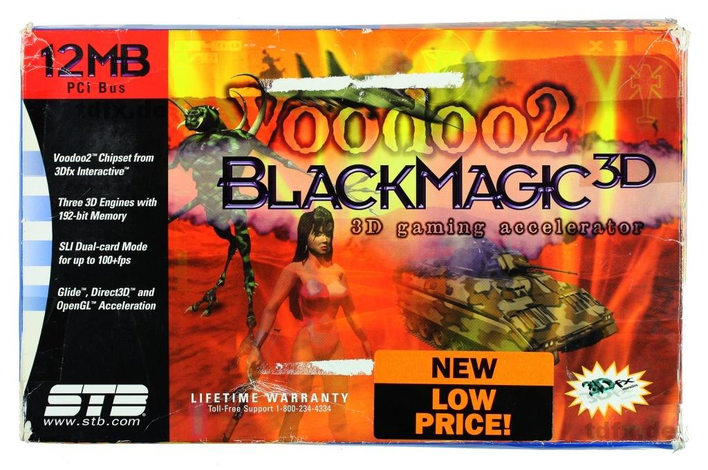 tdfx de -->STB BlackMagic 3D